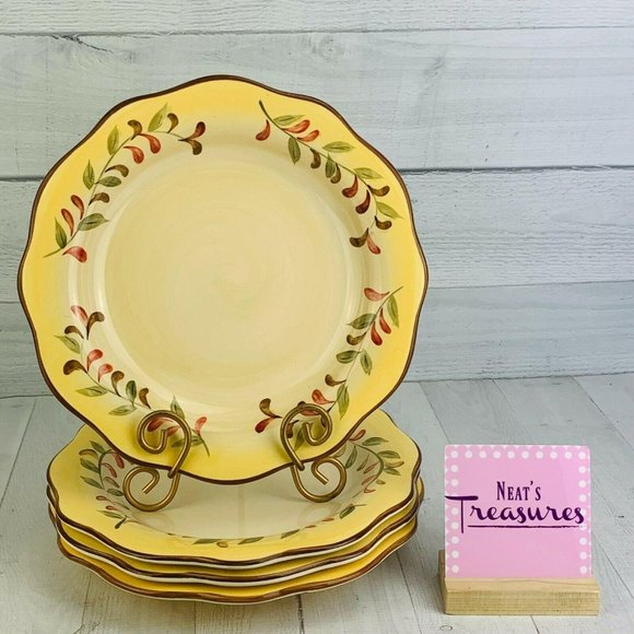 Better Homes And Gardens TUSCAN RETREAT Plates